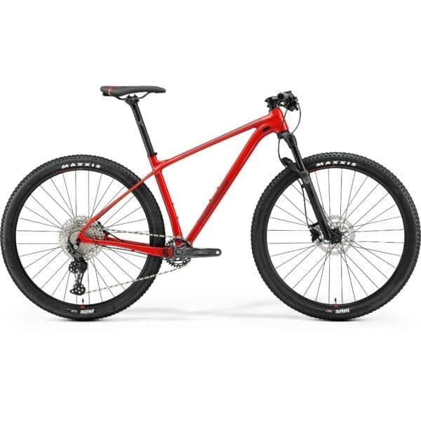 Merida Big Nine Limited i sort og rød | 2021-model | varenummer 71016