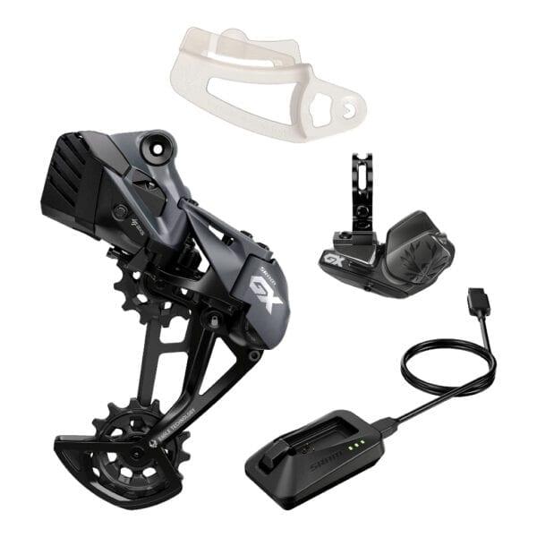 Sram GX Eagle AXS opgaderingskit til mountainbikes med et 12speed gearsystem fra Sram (1x12 gear)