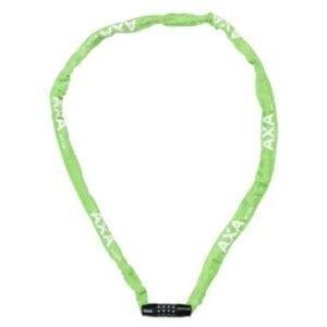 Grøn kædelås med kode fra AXS